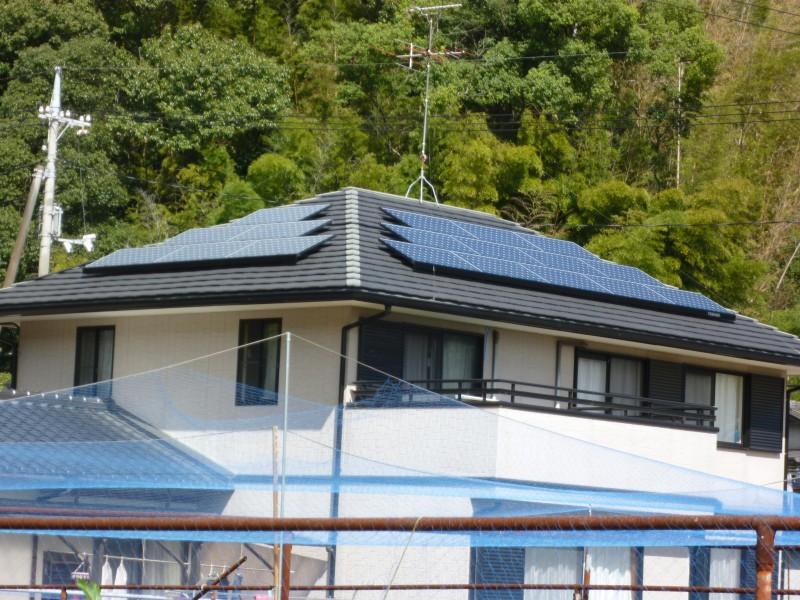 リフォーム 外装 屋根 ソーラーパネル
